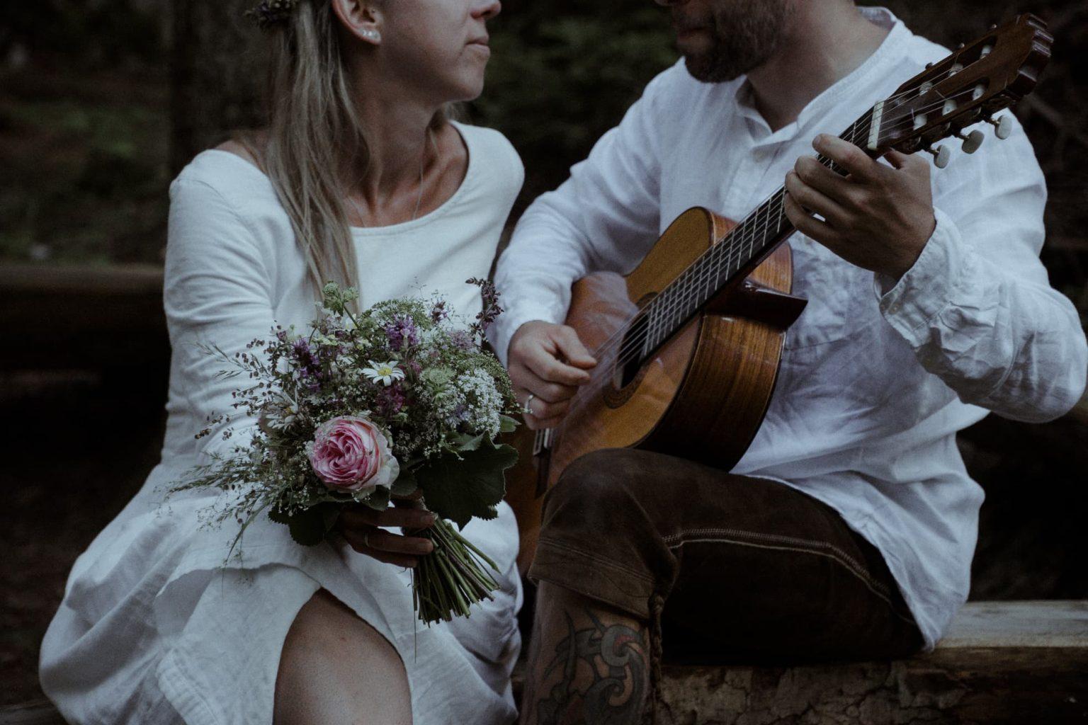 Heiraten zu zweit