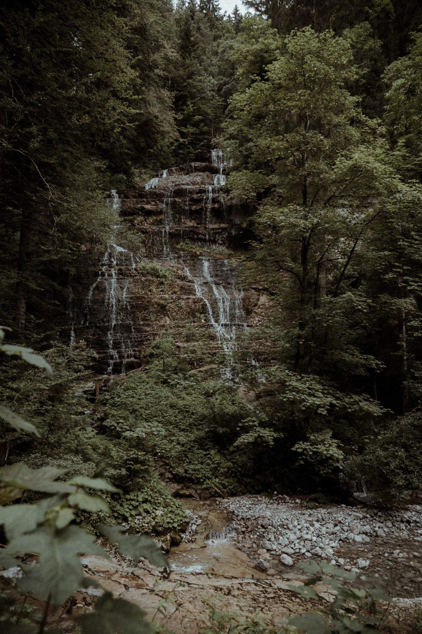 Osterhorngruppe, Wasserfall, Elopement, Höle