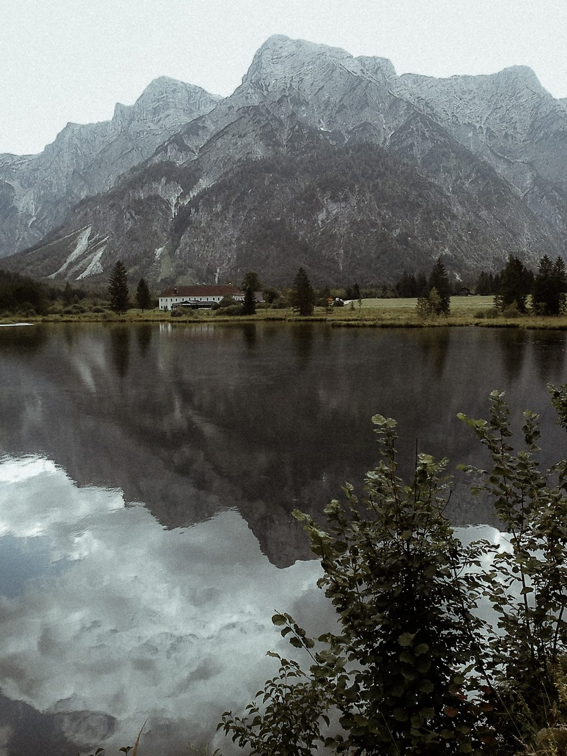 Almsee, Salzkammergut,